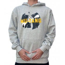 Wu Vinyl Hooded - grey