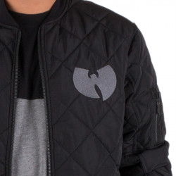 Wu Tang Clan - WU QUILTED Jacket - black - Wu-Tang Clan