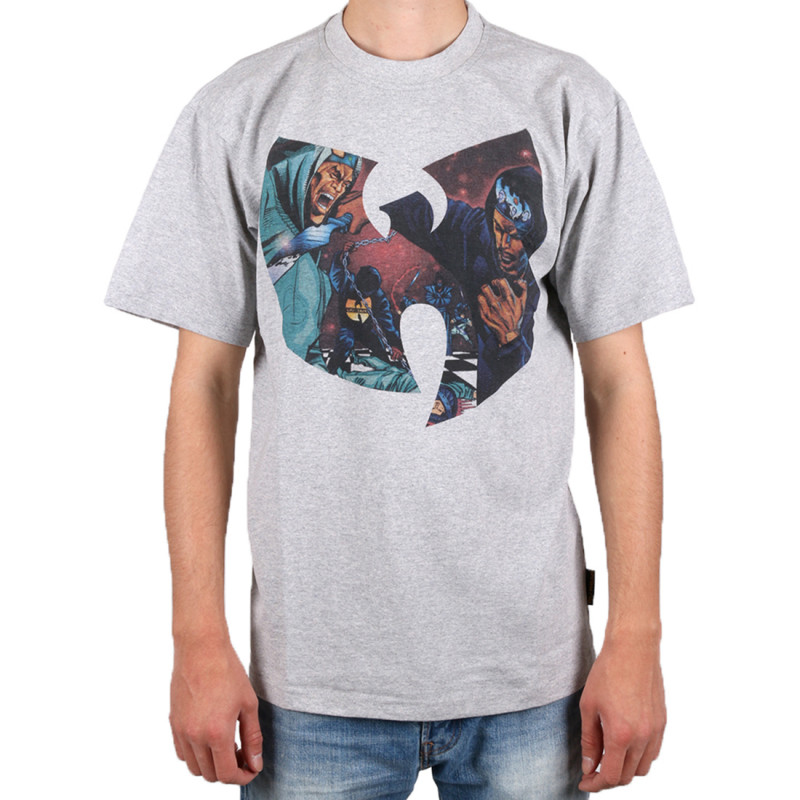 Wu Wear - GZA Liquid T-Shirt grey - Wu-Tang Clan