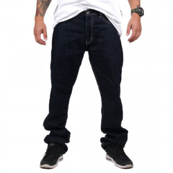 Wu Wear - Wu Simple Denim Pant raw blue- Wu-Tang Clan