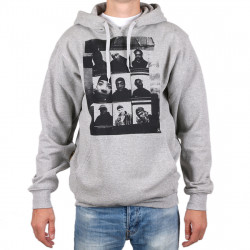 Wu Wear - Wu 9 Pics Hooded grey - Wu-Tang Clan
