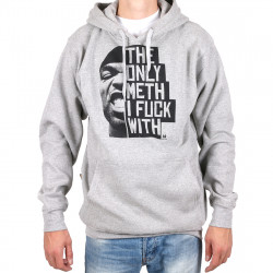 Wu Wear - The only Meth Hooded grey- Wu-Tang Clan