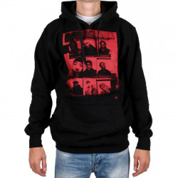 Wu Wear - Wu 9 Pics Hooded black - Wu-Tang Clan