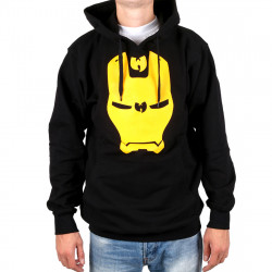 Wu Wear - Wu Iron Mask Hooded black - Wu-Tang Clan