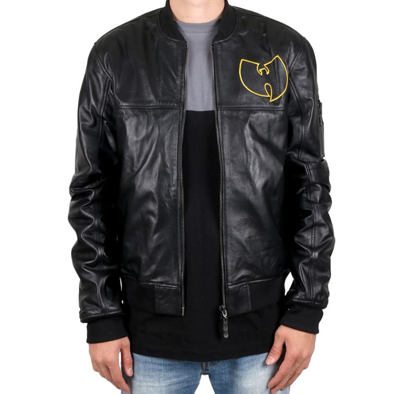 Wu Wear - Wu Tang Clan- WU Leather Jacket- Wu-Tang Clan