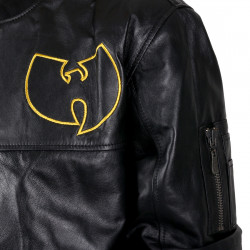 Wu Wear - Wu Tang Clan- WU Leather Jacket- Wu-Tang Clan