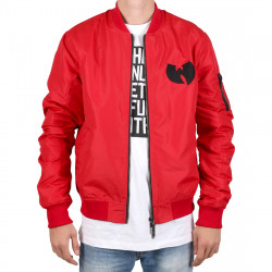 Wu Wear - Wu Tang Clan - WU BOMBER Jacket- red - Wu-Tang Clan