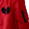 Wu Wear - Wu Tang Clan -  WU BOMBER Jacket- red  - Wu-Tang Clan