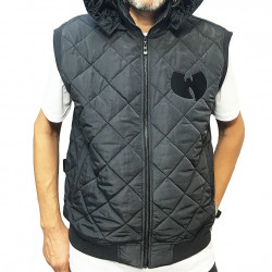 Wu Tang Clan - WU QUILTED Vest - grey - Wu-Tang Clan