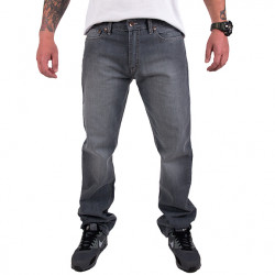 Wu Wear - Wu Simple Denim Pant raw grey - Wu-Tang Clan