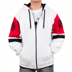 Wu Wear - Wu Tang Clan - Method Man Hooded Zipper white - Wu-Tang Clan