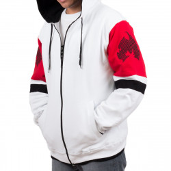 Wu Wear - Wu Tang Clan - Method Man Hooded Zipper weiss - Wu-Tang Clan
