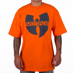 Wu Wear - Wu Tang Clan - Wu-Tang Clan Logo T-Shirt - orange-Wu-Tang Clan