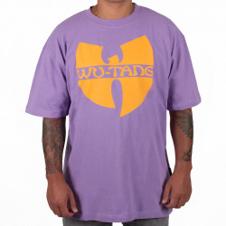 Wu Wear - Wu Tang Clan - Wu-Tang Clan Logo T-Shirt - purple - Wu-Tang Clan