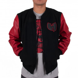Wu Tang Clan- Protect Ya Neck Jacket red- Wu-Tang Clan