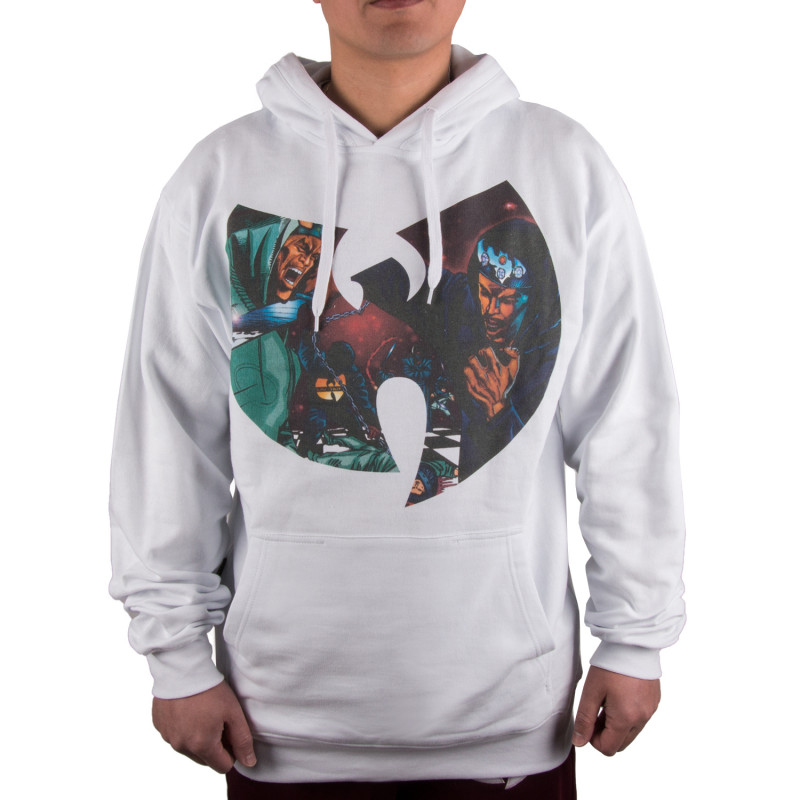 Wu Wear - GZA Liquid Swords Hooded white - Wu-Tang Clan