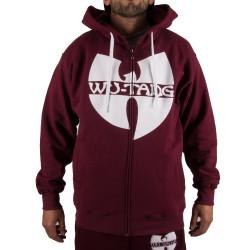 Wu Tang Clan Zipper Hooded  bordeaux - red - Wu-Tang Clan