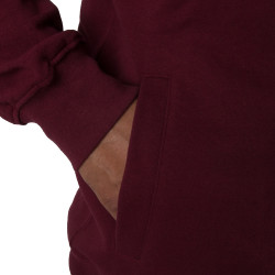 Wu Tang Clan Zipper Hooded  bordeaux - red - Wu-Tang Clan