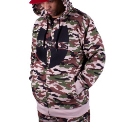 Wu Wear - Wu Tang Clan Zipper Hooded Camouflage - Wu-Tang Clan