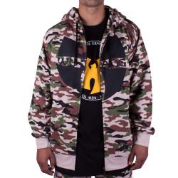 Wu Wear - Wu Tang Clan Zipper Hooded Camouflage - Wu-Tang Clan