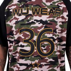 Wu Wear - Wu Tang Clan - Wu 2 Tone Camo Reglan T-Shirt - Wu-Tang Clan