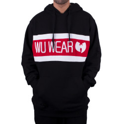 Wu Wear - Wu Tang Clan - Wu-2 Stripe Hooded - Wu-Tang Clan