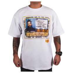 Wu Wear - Wu Tang Clan - Ol' Dirty white tee  - Wu-Tang Clan