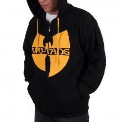 Wu Wear - Wu Tang Clan - Protect ya Neck Hooded Zipper black/yellow - Wu-Tang Clan