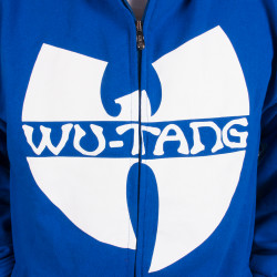 Wu Wear - Wu Tang Clan- Protect Ya Neck Zipper Jacket navy- Wu-Tang Clan