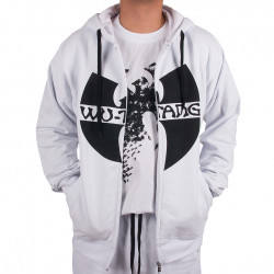 Wu Wear - Wu Tang Clan- Zipper Hooded- Wu-Tang Clan