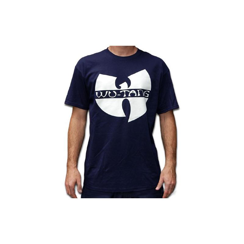 Wu-Tang Clan Logo T-Shirt - navy
