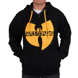 Wu Wear - Wu Tang Clan - Protect ya Neck Hooded Zipper black/yellow - Wu-Tang Clan