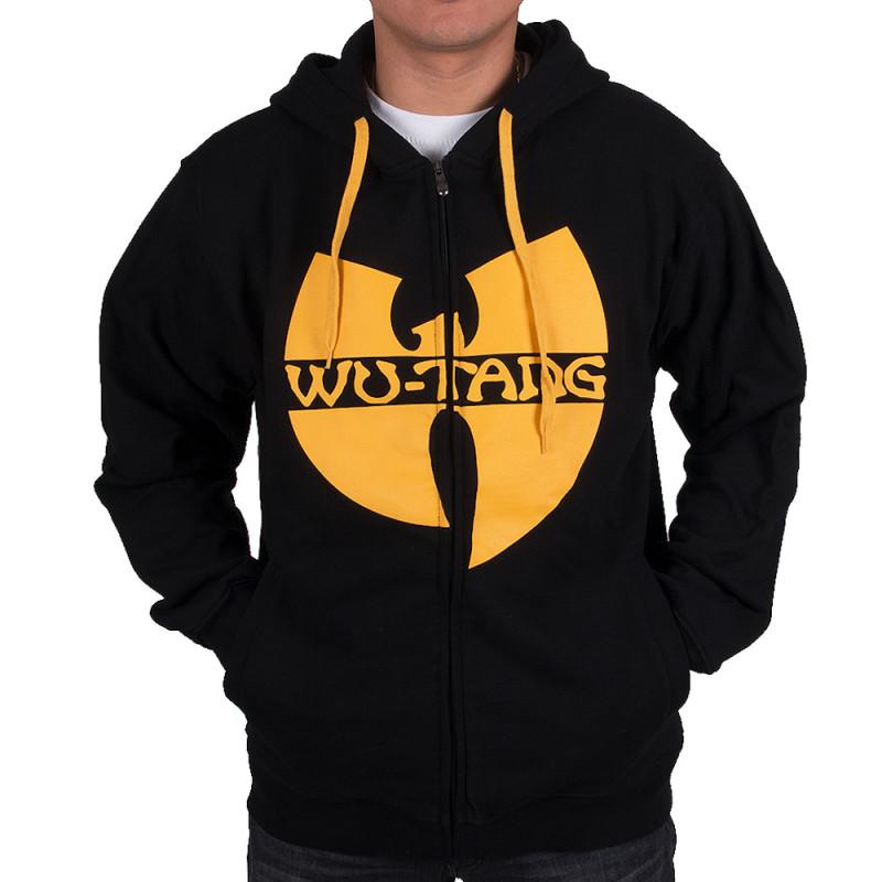 Wu Wear - Wu Tang Clan Zipper Hooded black/yellow - Wu-Tang Clan