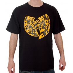 Wu Faces T-Shirt - black