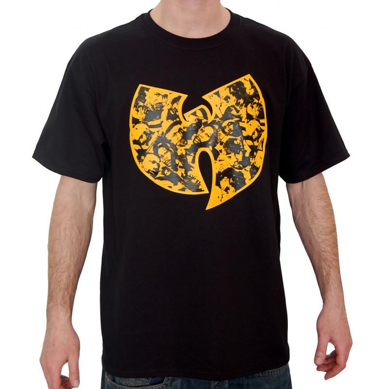 Wu Faces T-Shirt - black