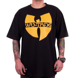 Wu-Tang Clan Logo T-Shirt - black