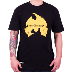 Method Man Logo Tee - black/yellow