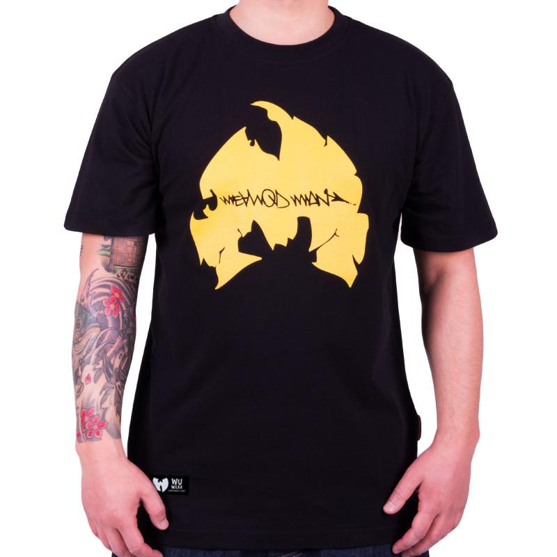 Method Man Logo Tee - black/yellow