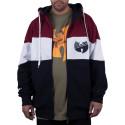 Wu Wear - Wu Tang Clan - 3 Tone Wu Zipper Hooded - Wu-Tang Clan
