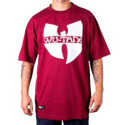Wu Wear - Wu Tang Clan - Wu-Tang Clan Logo T-Shirt - bordeaux red - Wu-Tang Clan