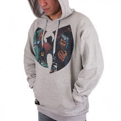 Wu Wear - GZA Liquid Swords Hooded grey - Wu-Tang Clan