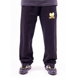 Wu Wear Brand Sweat Pant - black