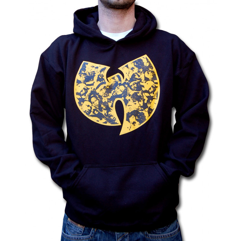 Faces Hooded - black