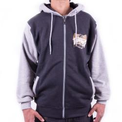 Wu Wear - Wu Tang Clan - Melting Symbol Hooded Zipper - Wu-Tang Clan