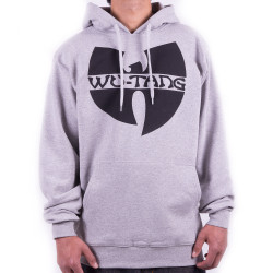 Wu-Tang Clan Logo Hooded - grey