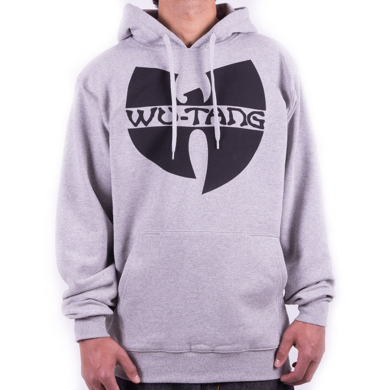 Wu-Tang Clan Logo Hooded - grey