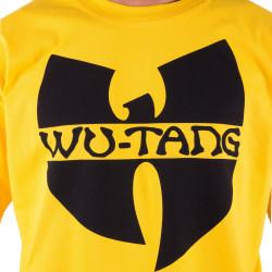 Wu-Tang Clan Logo T-Shirt - yellow