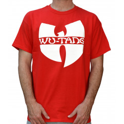 Wu-Tang Clan Logo T-Shirt - red
