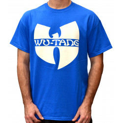 Wu-Tang Clan Logo T-Shirt - royal blue